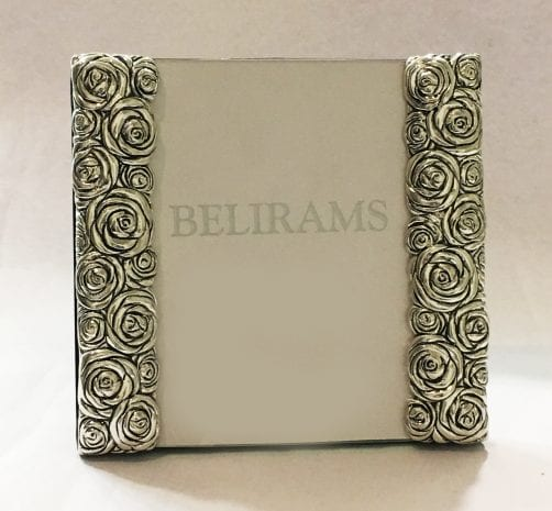 Silver Photo Frame – 4×6 Inch photo size – Resin Silver