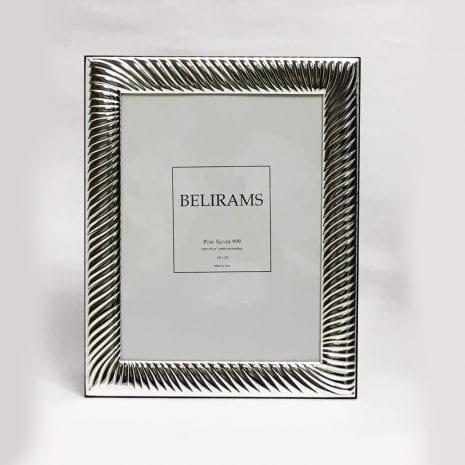 Silver Photo Frame for Wedding – 18×24 cm photo size