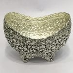 Unique Silver Plated Dish for Wedding   7 Inch