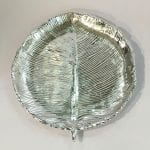 Unique Silver Leaf Dish Gift with Price | 8.5 Inch length