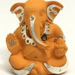 Unique Silver Ganesh Statue Gift – 3 Inch Height