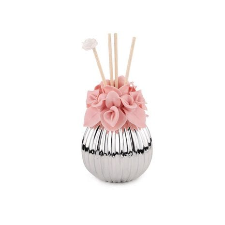 A Pink Lily Oval Incense Diffuser