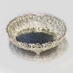 Gorgeous Silver Plated Centerpiece | 11″ Dia
