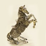 Artistic Large Silver HORSE Gift | 13 Inch