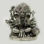 Pure Silver Punchmukhi Hanuman | 3.2″ Ht
