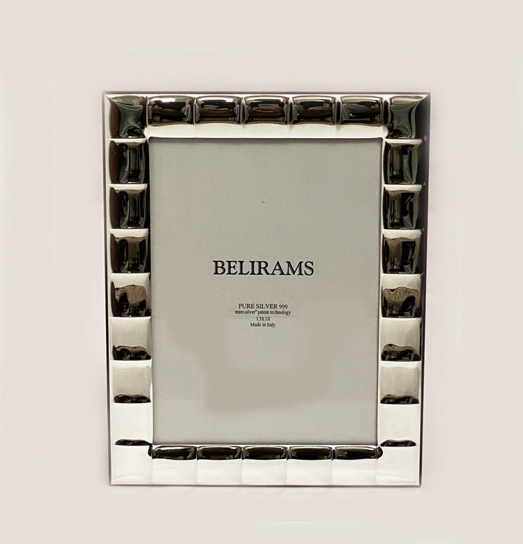 Best Silver Squares Photo Frame | 13×18 cm