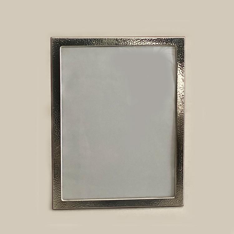 Buy Silver Photo Frame Beaten Effect | 18×24 cm Photo Size