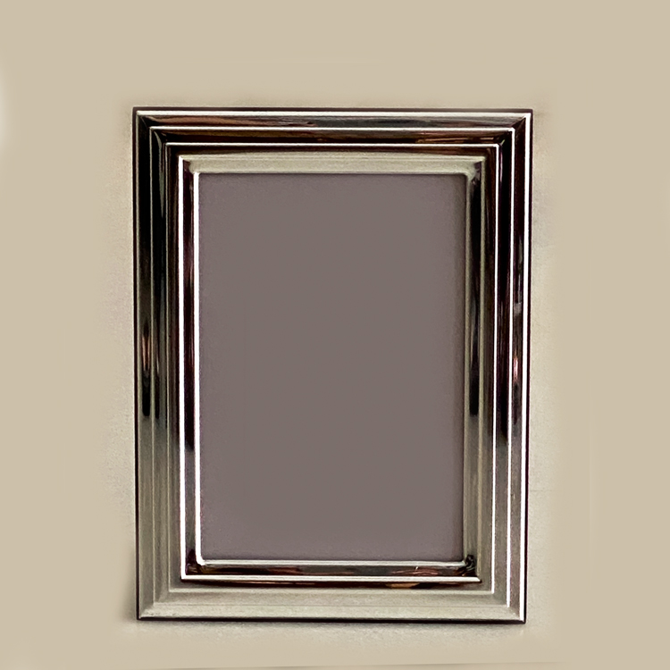 A Silver Picture Frame Lines | 9×13 cm photo size