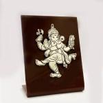Dancing Silver Ganesha Statue | 5 Inch