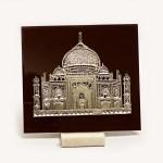 A Silver Taj Mahal Mobile Holder | 5.5 Inch
