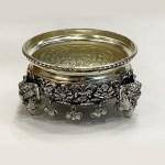 Artistic Silver Plated Bowl or Urli | 5.5 Inch