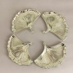 Silver Plated Shell Dish set of four | 6.0×4.5″ each