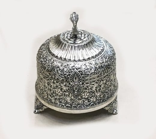 Silver Plated Antique Box 9″ … silver plated