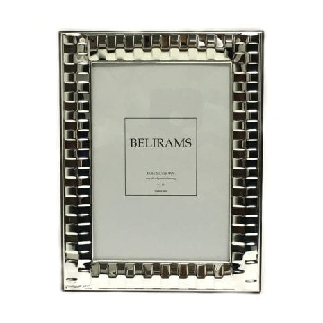 Buy Real Silver Photo Frame Gift – 9×13 cm photo size – 925 Sterling Silver