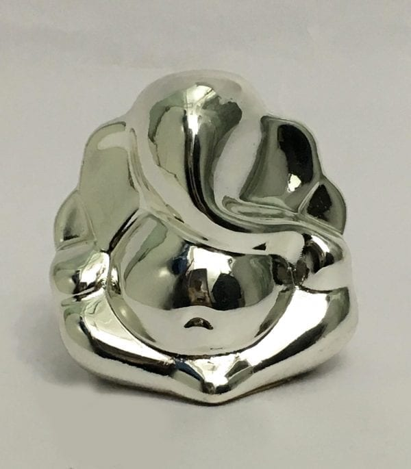 Buy Silver Ganesh Statue with price online  – 2.7 inch