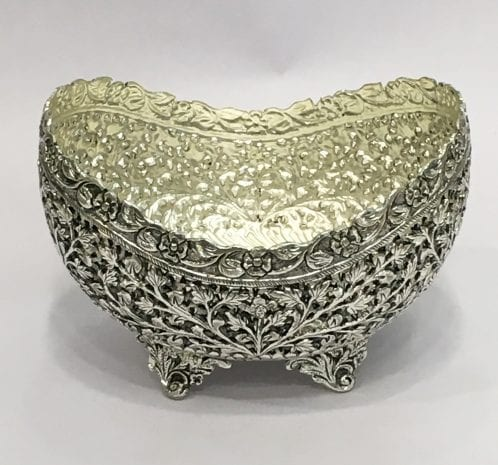 Unique Silver Plated Dish for Wedding – 7 Inch