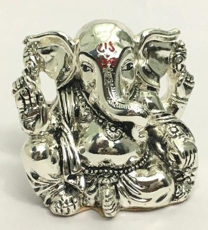 Pure Silver Ganesh Idol Gift – 2.2 inch