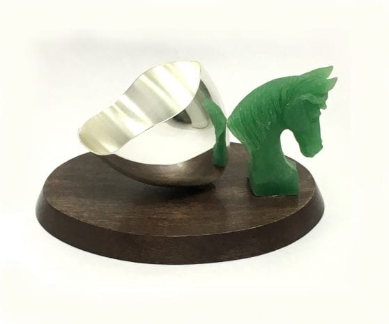 Buy Modern Silver Plated Nut Bowl Gift