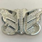 Silver Plated Butterfly Dish Two Parts | 9.0 inch