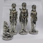 Silver Ram Darbar with Price   12.5 Inch