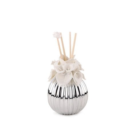 White Lily Oval Incense Diffuser