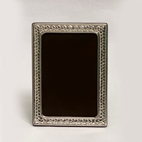 Sterling Silver Photo Frame Gift   10×15 cm photo size
